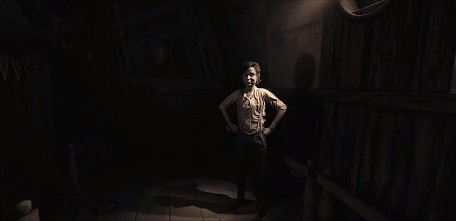 Capas de miedo 2 - Lilly camina por el tablón