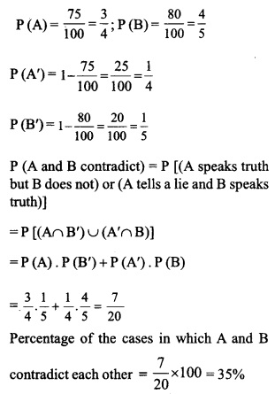 HSSlive Plus One Maths Chapter Wise Questions and Answers Chapter 16 Probability 10