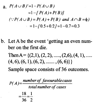 HSSlive Plus One Maths Chapter Wise Questions and Answers Chapter 16 Probability 3