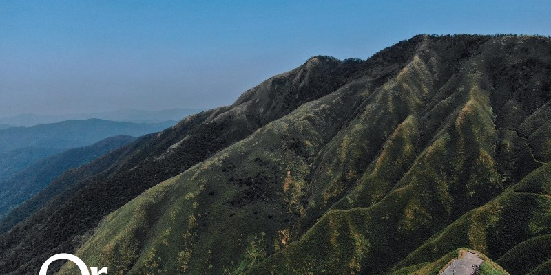 宜蘭景點 抹茶山藏在聖母山莊步道中,探索聖母朝聖地,望向三角崙山欣賞抹茶般色彩連綿的抹茶山