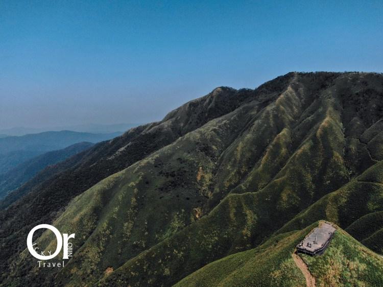 宜蘭景點|抹茶山藏在聖母山莊步道中,探索聖母朝聖地,望向三角崙山欣賞抹茶般色彩連綿的抹茶山
