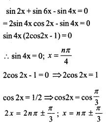 HSSlive Plus One Maths Chapter Wise Previous Questions Chapter 3 Trigonometric Functions 18