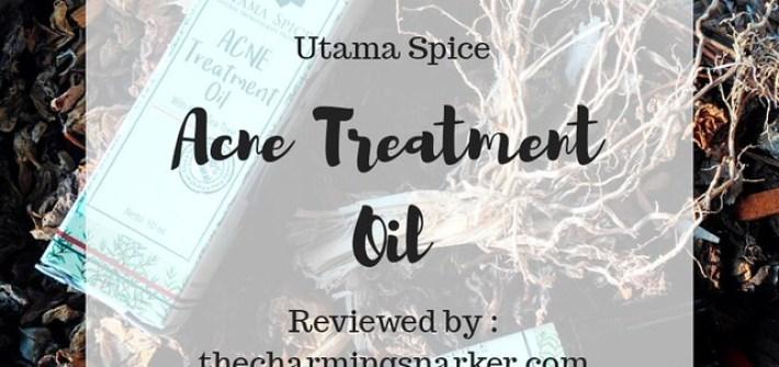 Utama Spice Acne Treatment Oil : Acne Free, The Natural Way