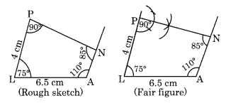 NCERT Solutions for Class 8 Maths Chapter 4 Practical Geometry Ex 4.3 Q1.1