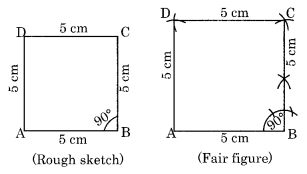 Practical Geometry NCERT Extra Questions for Class 8 Maths Q3