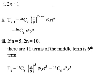 HSSlive Plus One Maths Chapter Wise Previous Questions Chapter 8 Binomial Theorem 14