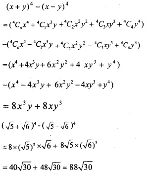 HSSlive Plus One Maths Chapter Wise Previous Questions Chapter 8 Binomial Theorem 11