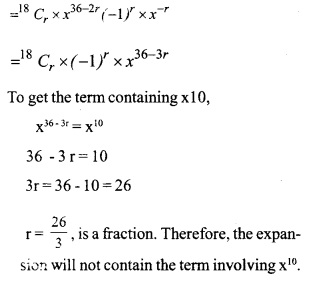 HSSlive Plus One Maths Chapter Wise Previous Questions Chapter 8 Binomial Theorem 3