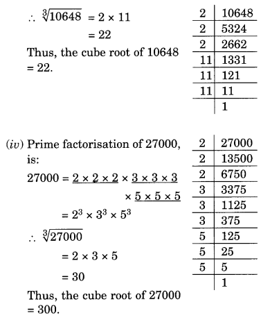NCERT Solutions for Class 8 Maths Chapter 7 Cubes and Cube Roots Ex 7.2 Q1.2