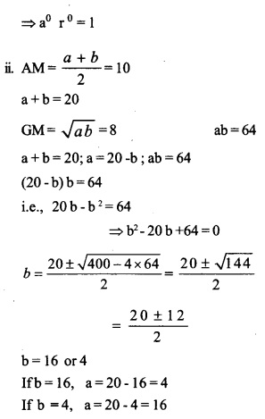 HSSlive Plus One Maths Chapter Wise Previous Questions Chapter 9 Sequences and Series 19