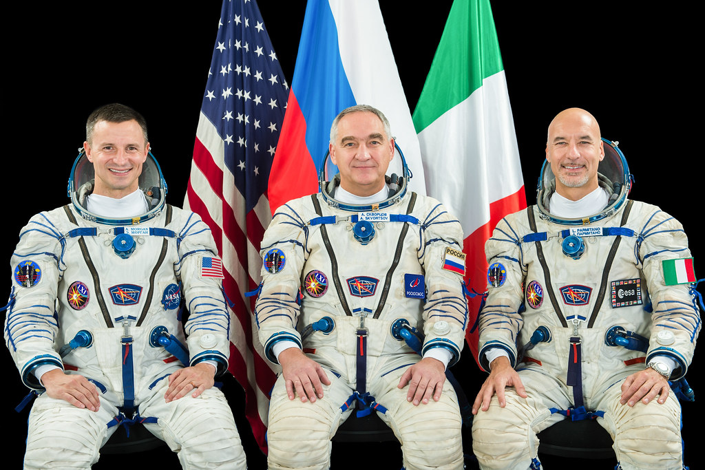 Luca Parmitano – Soyuz MS-13 crew