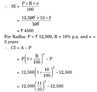 NCERT Solutions for Class 8 Maths Chapter 8 Comparing Quantities Ex 8.3 Q3