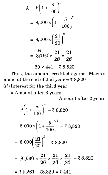 NCERT Solutions for Class 8 Maths Chapter 8 Comparing Quantities Ex 8.3 Q7