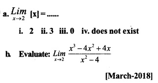 HSSlive Plus One Maths Chapter Wise Previous Questions Chapter 13 Limits and Derivatives 1