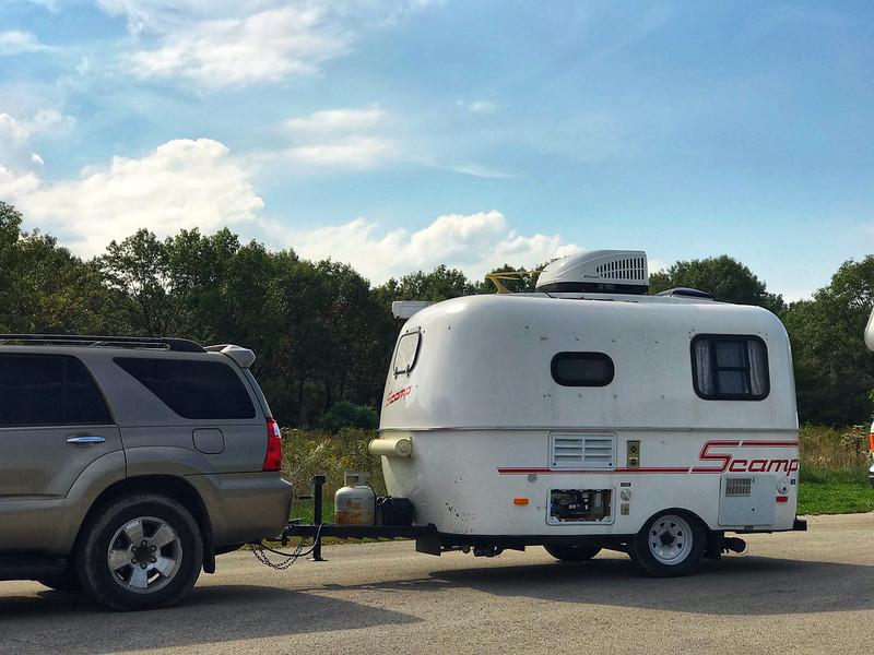 Scamp camper