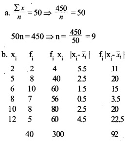 HSSlive Plus One Maths Chapter Wise Previous Questions Chapter 15 Statistics 4