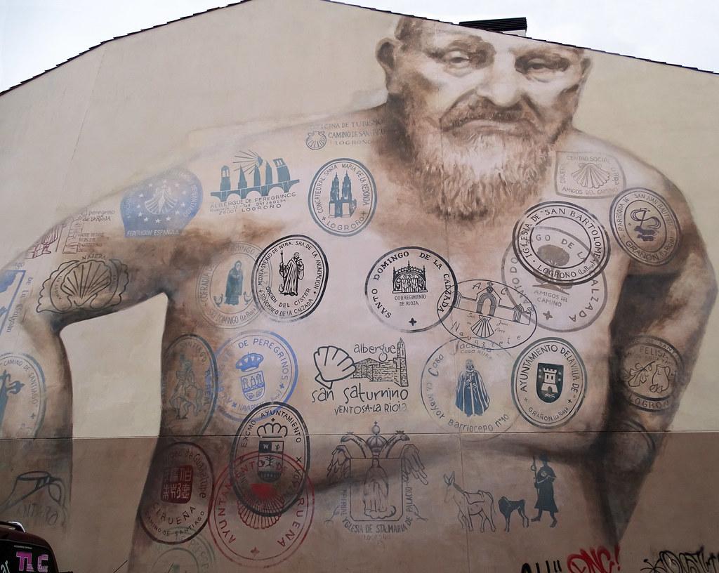 Graffiti pintura mural Logroño La Rioja 01