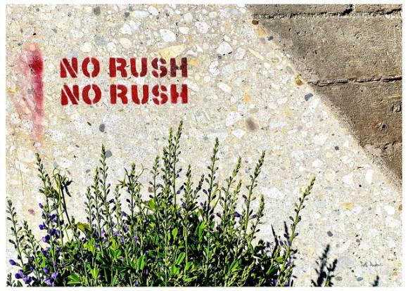 No Rush No Rush
