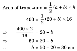 Mensuration NCERT Extra Questions for Class 8 Maths Q16
