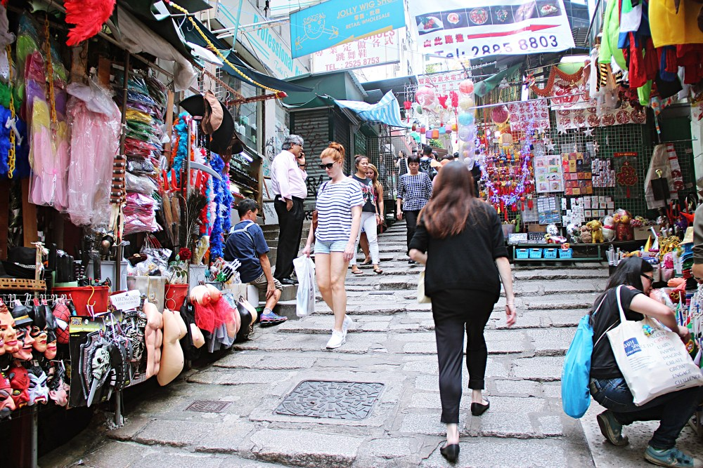 5 Nov 2015: Pottinger Street | Central, Hong Kong