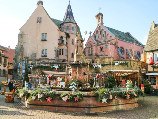 Plaza principal de Eguisheim