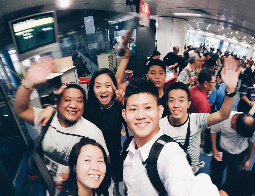 6 Nov 2015: Hong Kong - Macau Ferry Terminal | Hong Kong, China