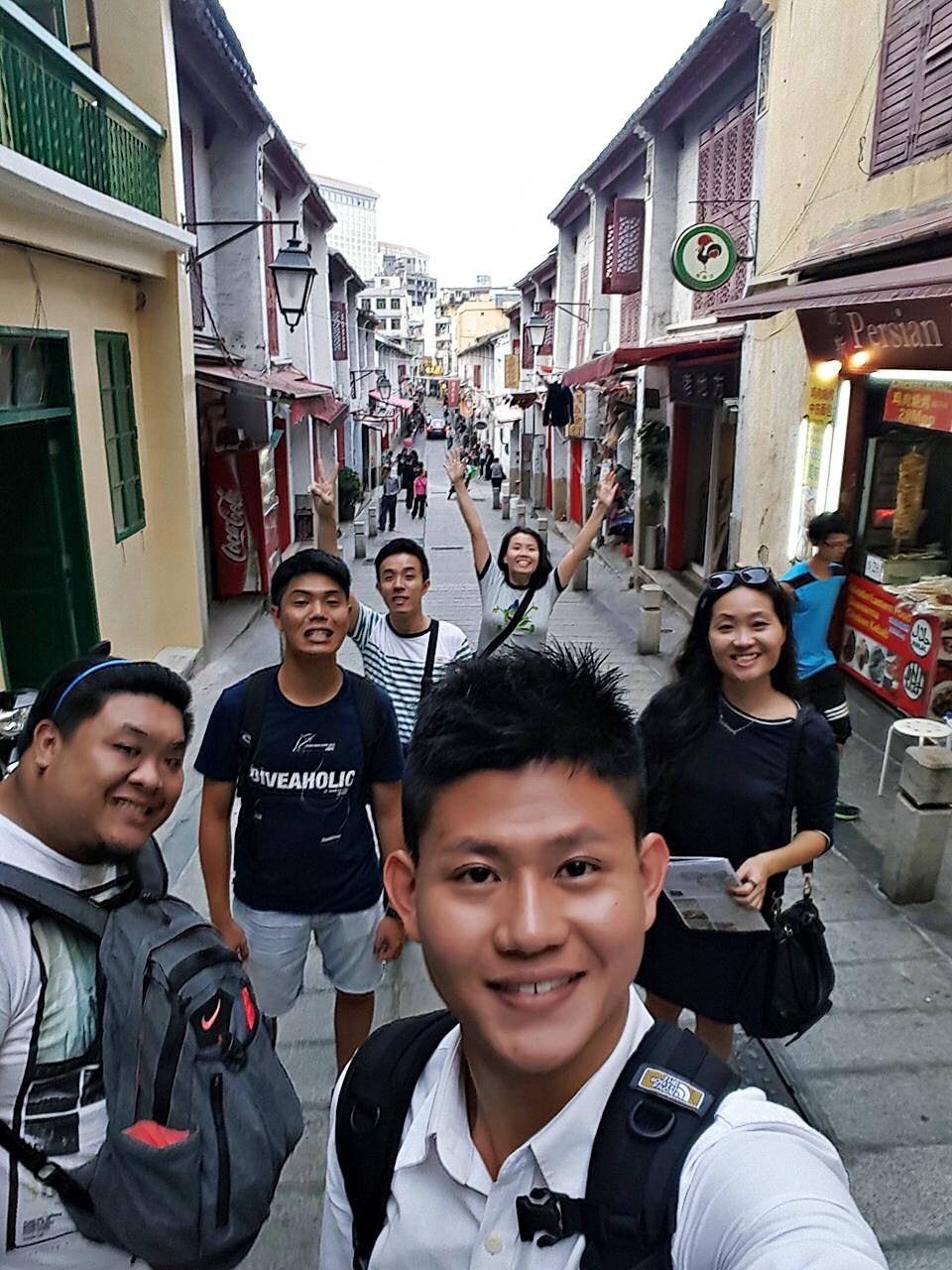6 Nov 2015: Rua de Felicidade | Macau, China