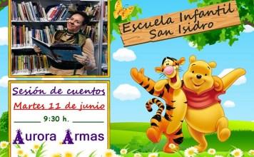 Sesión de Cuentos de Aurora Armas en la Escuela Infantil de San Isidro