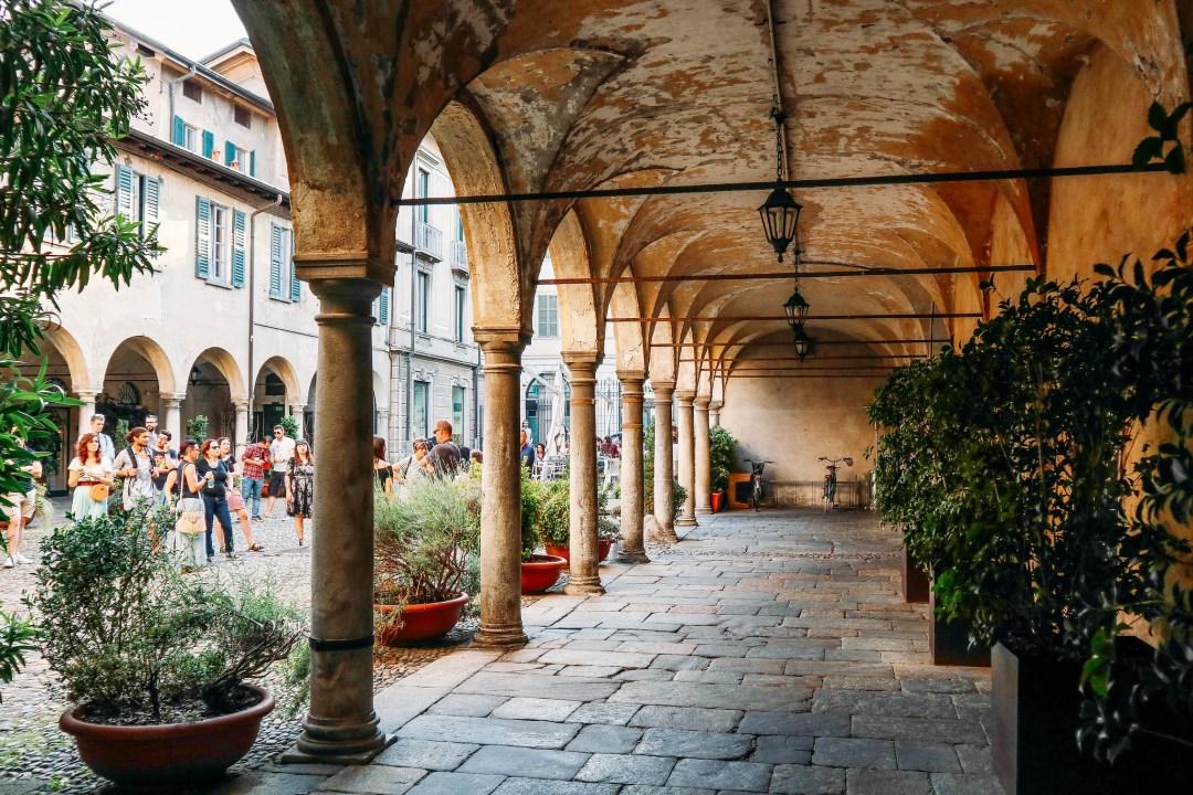 Cortile del Broletto, Varese