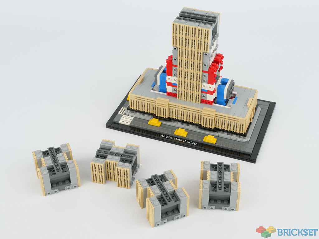 Review 21046 Empire State Building Brickset Lego Set Guide And Database