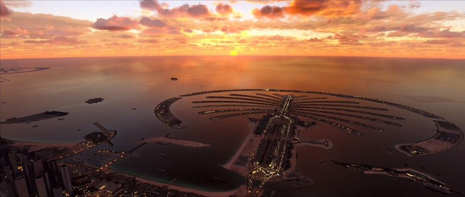 Microsoft Flight Simulator - 두바이