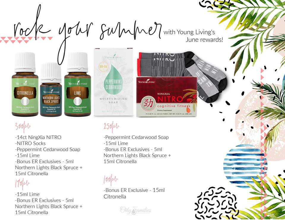 June 2019 Young Living promos