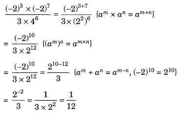 Exponents and Powers Class 8 Extra Questions Maths Chapter 12 Q16.1