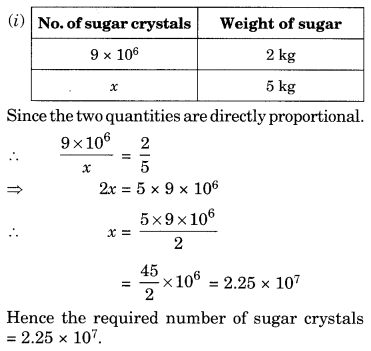 NCERT Solutions for Class 8 Maths Chapter 13 Direct and Inverse Proportions Q7