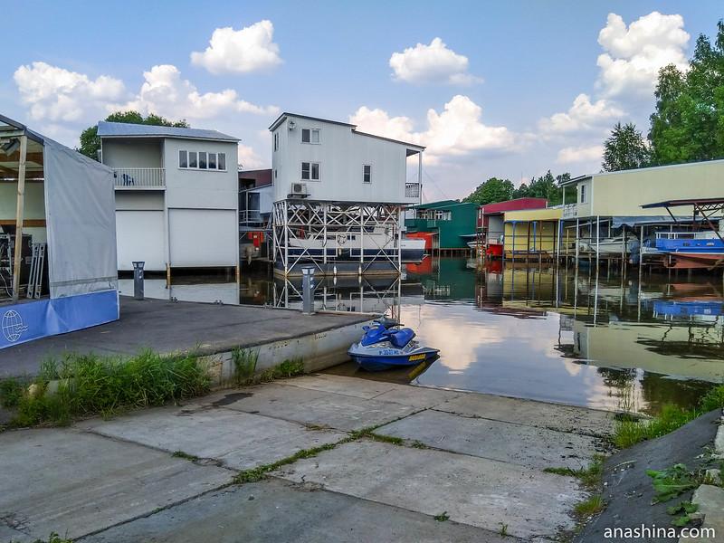 Водный мир, ВМК Глобус, Иваньковское водохранилище