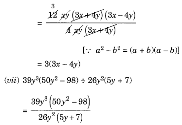 NCERT Solutions for Class 8 Maths Factorisation Ex 14.3 Q5.4