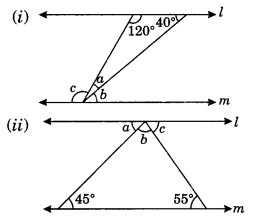 Lines and Angles Class 7 Extra Questions Maths Chapter 5 Q12