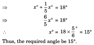 Lines and Angles Class 7 Extra Questions Maths Chapter 5 Q1.1