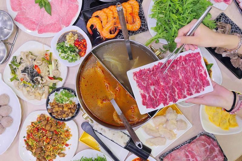 【台中沙鹿】台南溫體牛沙鹿旗艦店:滷肉飯 豬油拌飯免費吃到飽!溫體牛肉火鍋+日本和牛+牛雜快炒便宜好吃大推!
