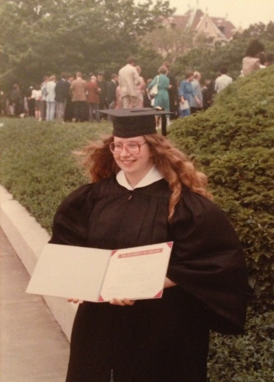 University of Chicago commencement, 1983