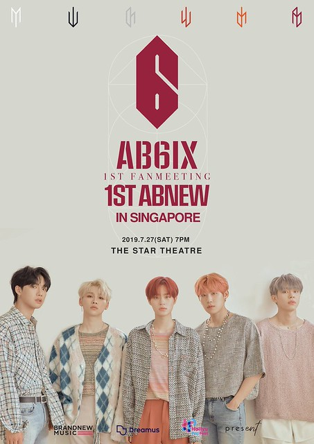 AB6IX 1st Fan Meeting '1ST ABNEW' in Singapore