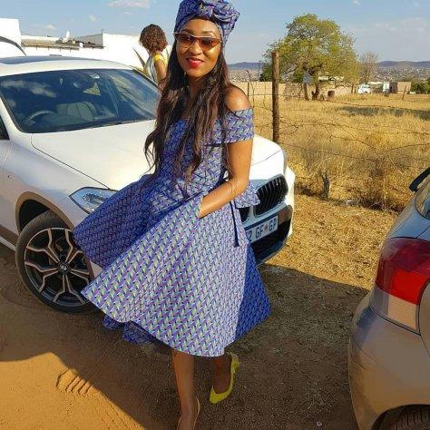 Fabulous shweshwe traditional dresses
