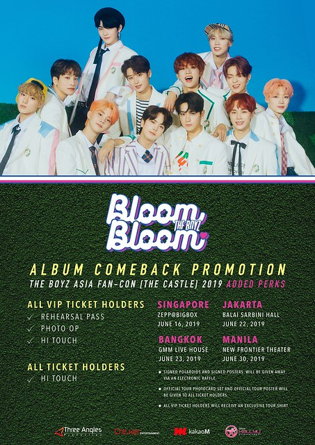 THE BOYZ Asia Fan-Con 'The Castle' in Singapore Fan Benefits