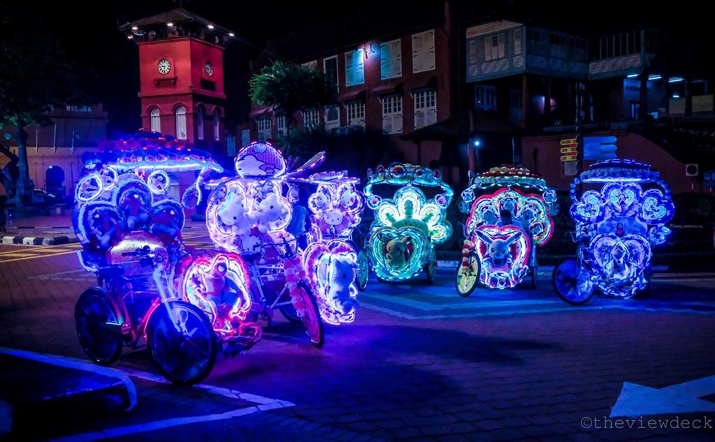 Trishaw in Melaka