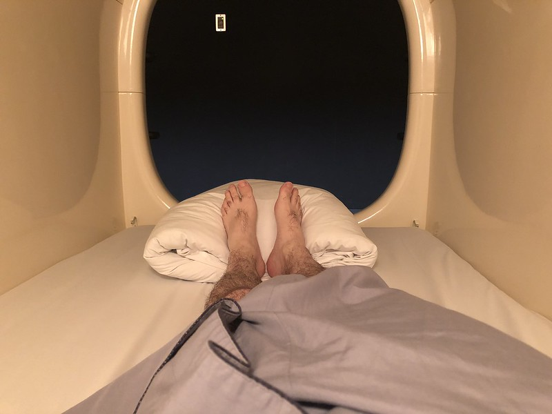 Interior de la cápsula
