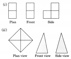 Visualising Solid Shapes Class 7 Extra Questions Maths Chapter 15 Q13.1
