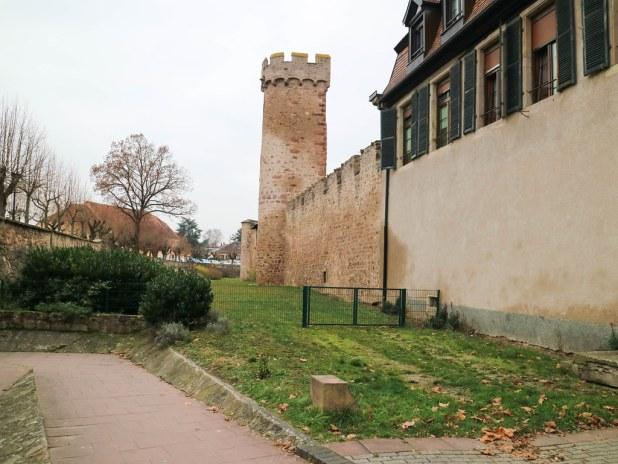 Torres de las murallas de Obernai