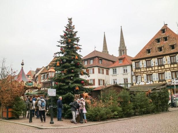 Calles principales de Obernai