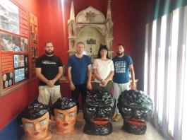 El Ayuntamiento de Agaete replica los papahuevos de la 'China' y el 'Negro'