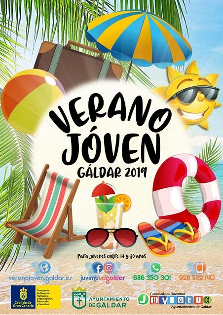 Programa Verano Joven 2019 en Gáldar